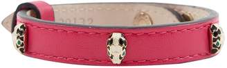 Bulgari Serpenti Pink Leather Bracelets