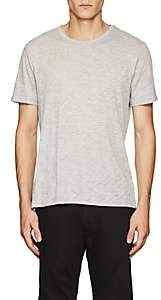 ATM Anthony Thomas Melillo Men's Slub Cotton-Blend T-Shirt - Gray