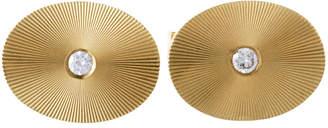 Tiffany & Co. 14K 0.20 Ct. Tw. Diamond Cufflinks