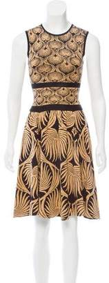 Sophie Theallet Silk Printed Dress w/ Tags