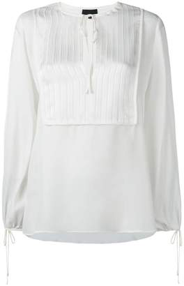 Nili Lotan Rena bohemian blouse