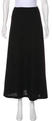 Donna Karan Wool Knit Midi Skirt
