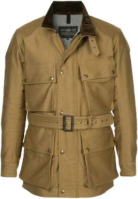 Addict Clothes Japan military belted jacket