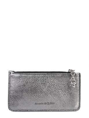 Alexander McQueen Zipper Card Holder