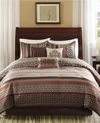 Madison Park Princeton 7-Pc. California King Comforter Set Bedding