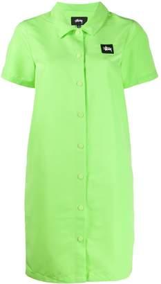 Stussy Nomi House shirt dress