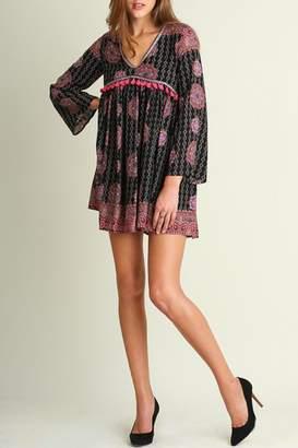 Umgee USA Boho Tassel Dress