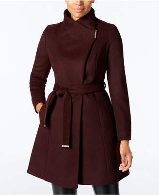 Michael Kors MICHAEL Wool-Blend Belted Walker Coat