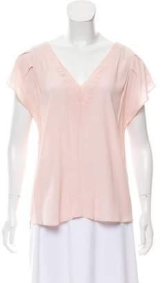Rebecca Minkoff Short Sleeve V-Neck Top