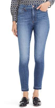J.Crew 10-Inch Higher Rise Toothpick Eco Jeans