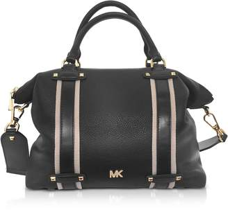 Michael Kors Pebbled Leather Griffin Large Satchel