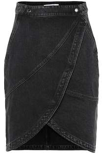 Givenchy High-rise denim skirt