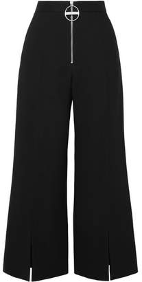 Givenchy Wool-crepe Flared Pants - Black