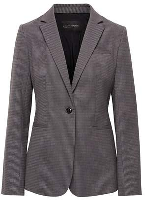 Banana Republic Long and Lean-Fit Sparkle Pinstripe Blazer