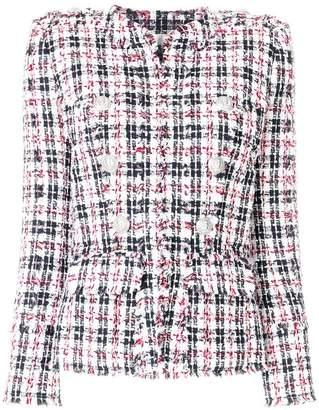 Balmain fitted tweed jacket
