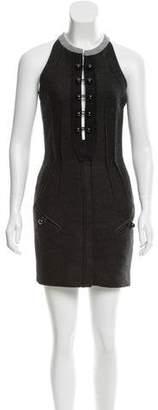 Isabel Marant Pleat-Accented Mini Dress