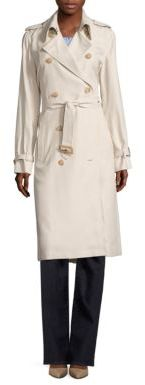 Polo Ralph Lauren Twill Trench Coat $398 thestylecure.com