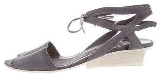 Narciso Rodriguez Suede Lace-Up Sandals