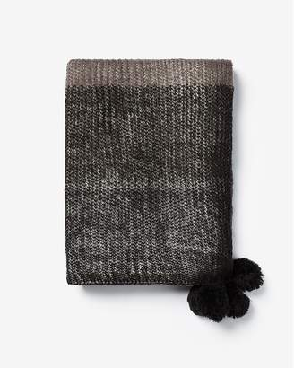 Express Color Block Lightweight Knit Scarf