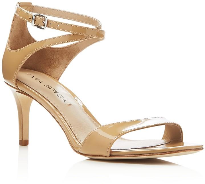 Nude Ankle Strap Heels - ShopStyle Australia