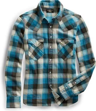 Ralph Lauren Cotton Flannel Western Shirt