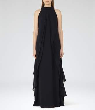 Reiss Delani Ruffle-Detail Maxi Dress