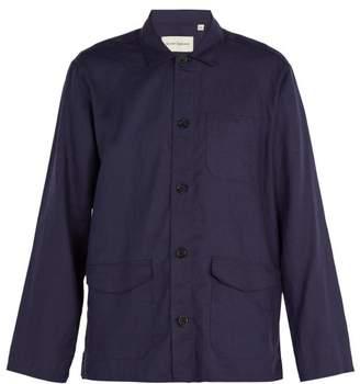 Oliver Spencer Hockney Linen Jacket - Mens - Navy