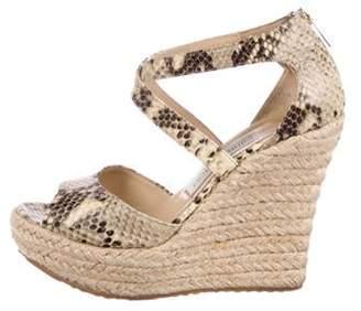 Jimmy Choo Strap Espadrille Sandals Strap Espadrille Sandals