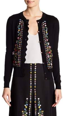 Ted Baker Hampton Embroidered Cardigan