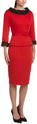 BGL Bgl Wool-Blend Skirt Suit
