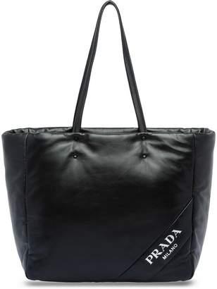 Prada logo shopping bag