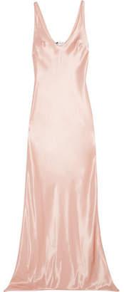 Satin Gown - Pastel pink