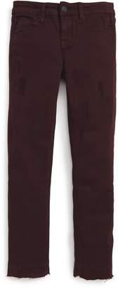 Hudson Released Hem Skinny Jeans (Big Girls)