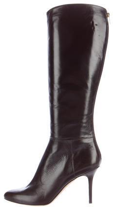 Jimmy ChooJimmy Choo Leather Knee-High Boots