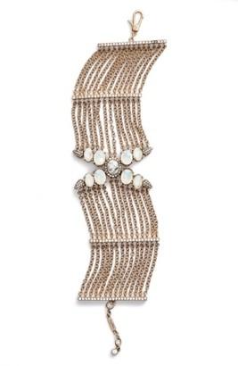 Women's Jenny Packham Wanderlust Chain Bracelet $125 thestylecure.com