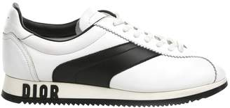 Christian Dior Diorun White Leather Trainers
