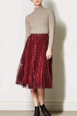 Express Pink Martini Yourself Skirt