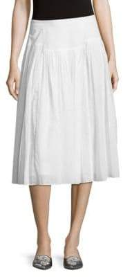Rebecca Taylor Cotton Voile Skirt