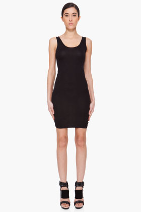 PREEN LINE Black Slip Dress