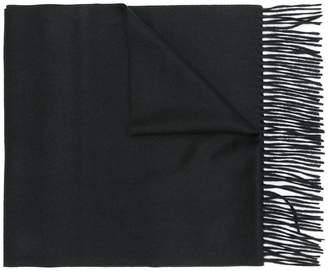 Neil Barrett embroidered detail scarf