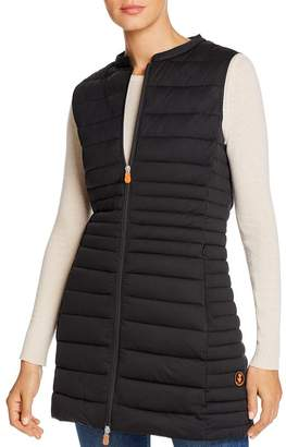 Save The Duck Long Puffer Vest