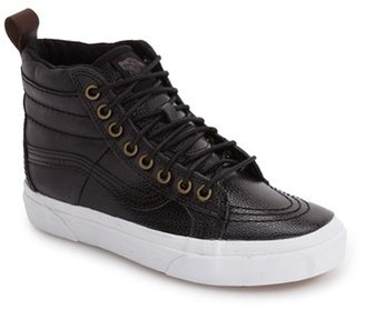 Women's Vans 'Hana Beaman - Sk8-Hi 46 Mte' Water Resistant High Top Sneaker $89.95 thestylecure.com