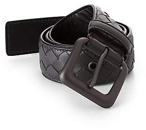 Bottega Veneta Men's Intrecciato Belt