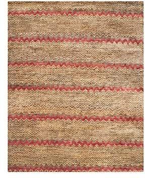 Bohemian Collection Stripe Area Rug, 4' x 6'