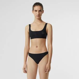Burberry Crest Detail Bikini