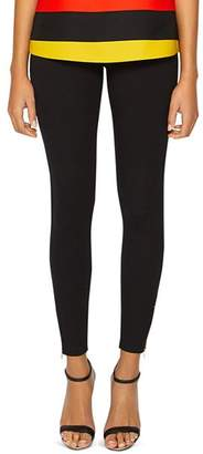 3fe10975cc942 Black Skinny Jeans With Gold Zips - ShopStyle