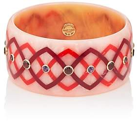 Mark Davis Women's Bakelite & Mixed-Gemstone Bangle-Pink