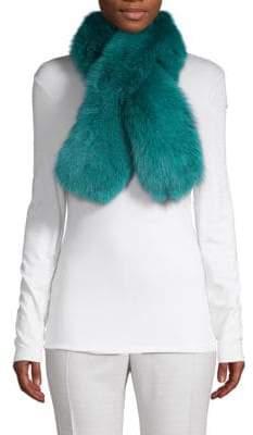 Classic Dyed Fox Fur Scarf