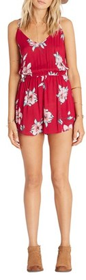 Women's Billabong Sunday Morning Print Romper $49.95 thestylecure.com
