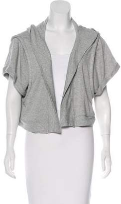 Aiko Cropped hooded Cardigan